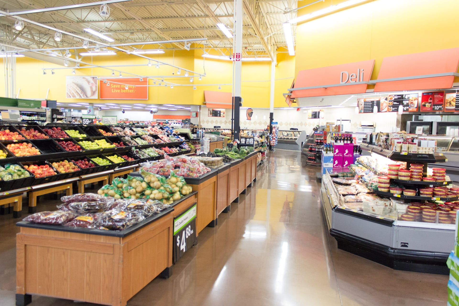Supermarket & Retail Center Cleaning Services